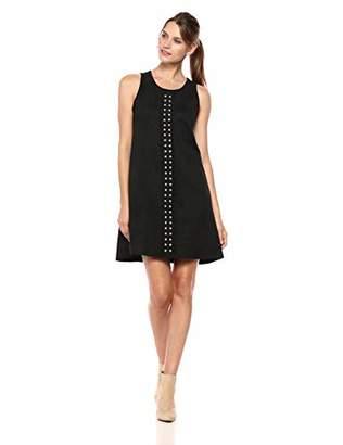 Karen Kane Women's Studded A-LINE Dress