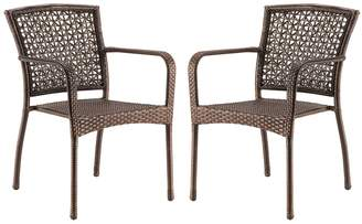 Sonoma Goods For Life SONOMA Goods for Life Presidio Patio Woven Stacking Bistro Chair 2-piece Set