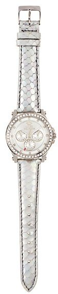 Juicy Couture Pedigree Silver Watch