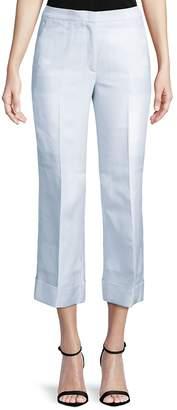 Akris Women's Christine Cotton Crop Pants