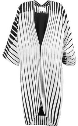 Vionnet Striped Wool Coat