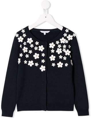 Little Marc Jacobs daisy appliqués cardigan