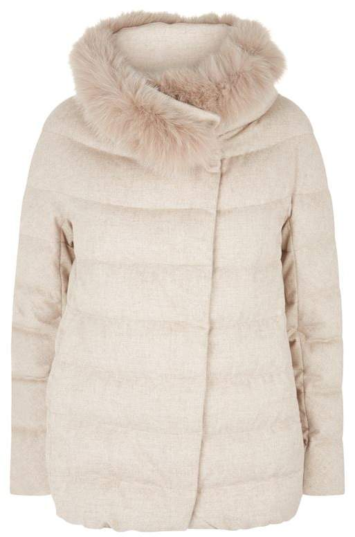 Cashmere Padded Jacket