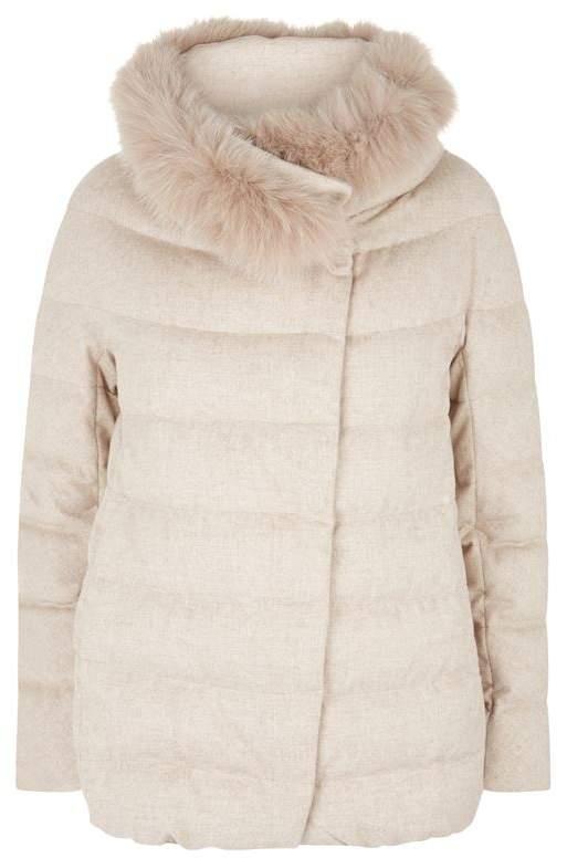 Cashmere Padded Jacket