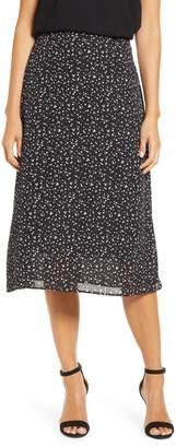 Loveappella Loveapella A-Line Midi Skirt