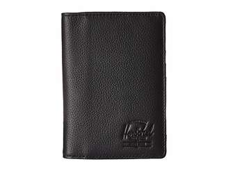 Herschel Raynor Passport Holder Leather RFID
