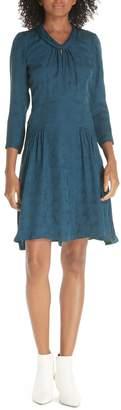 Rebecca Taylor Silk Jacquard Dress