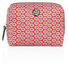 Tory Burch Tory Burch Brigitte Floral-Printed Cosmetic Case