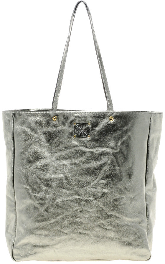 Sara Berman Metallic Leather Remi Tote Bag