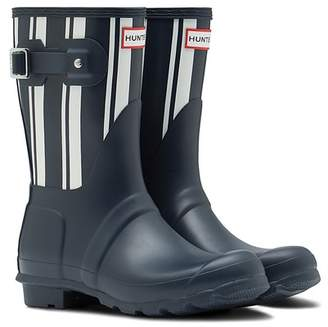 Hunter Garden Stripe Short Rain Boot