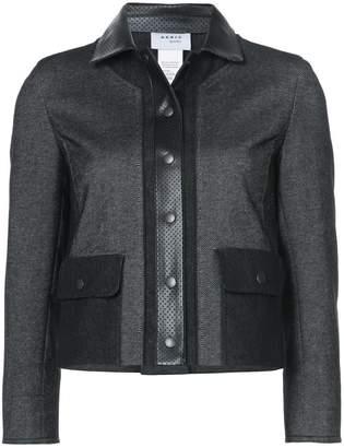 Akris Punto cropped zipped jacket