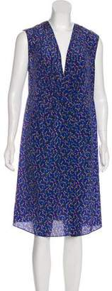 Cacharel Printed Silk Dress w/ Tags