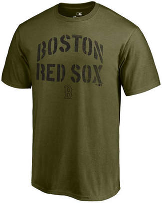 Majestic Men's Boston Red Sox Stencil Wordmark T-Shirt