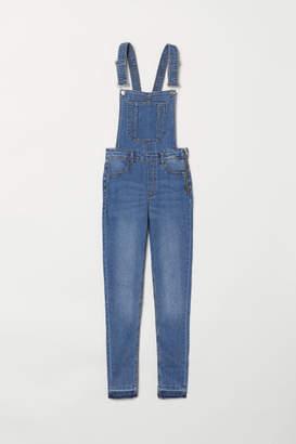 H&M Denim Bib Overalls - Blue