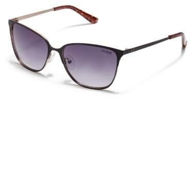 GUESS Factory Women's Retro Metal Sunglasses