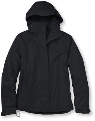 L.L. Bean L.L.Bean Women's Trail Model Rain Jacket, Fleece-Lined