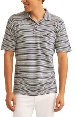 Cherokee Big Men's Short Sleeve One Pocket Polo