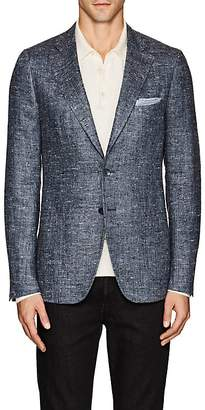 Isaia Men's Cortina Silk-Linen Two-Button Sportcoat