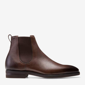 Bally Scavone Brown, Men's leather boot in brown
