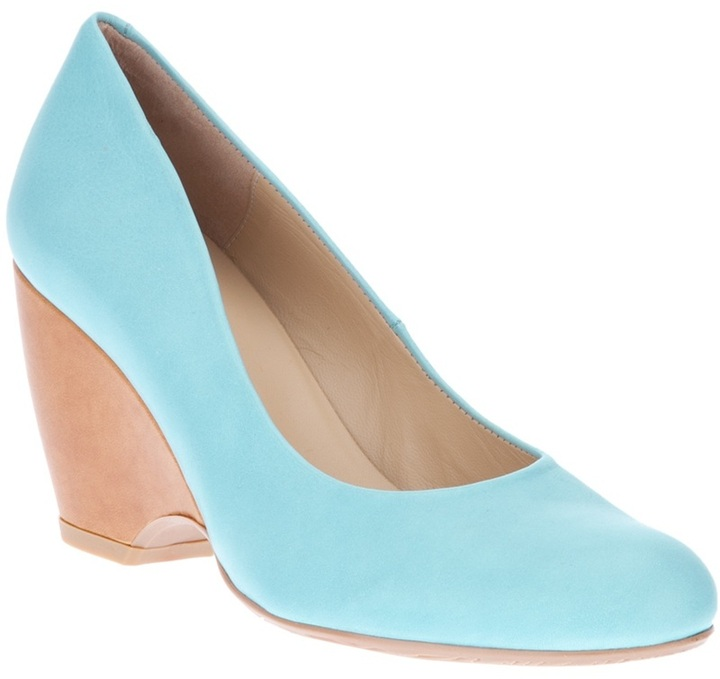 Audley calf leather wedge