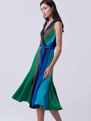 Penelope Silk Wrap Dress $468 thestylecure.com