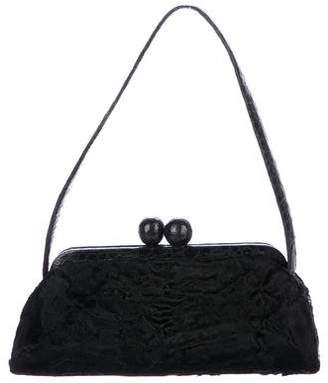 Nancy Gonzalez Persian Lamb Frame Bag