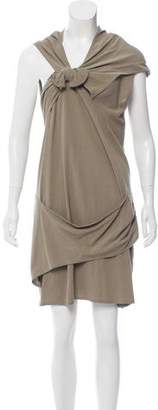 Alexander Wang Bow-Accent Midi Dress