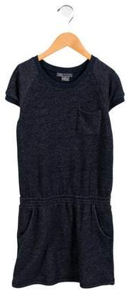 Vince Girls' Mélange Sweatshirt Dress