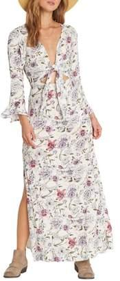 Billabong Forever Lust Floral Maxi Dress