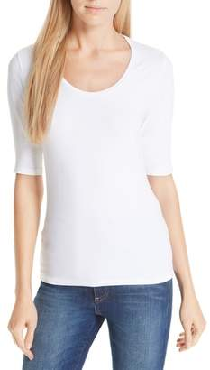 Majestic Filatures Majestic Soft Touch Elbow Sleeve Tee