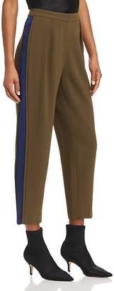 Ramy Brook Carey Silk-Trim Pants
