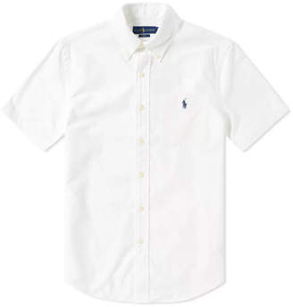 Polo Ralph Lauren Short Sleeve Slim Fit Oxford Shirt