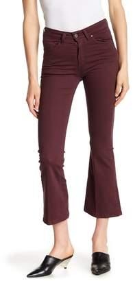 DAVID NAMAN Elle Crop Bell Jeans