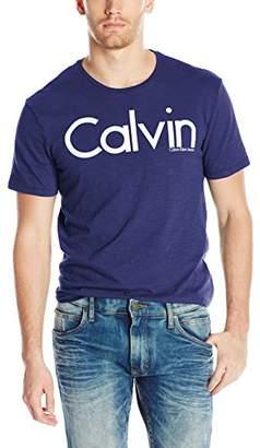 Calvin Klein Jeans Men's Short Sleeve Hd Logo Crew Neck T-Shirt