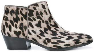 8d668eac43ee at Farfetch · Sam Edelman low chunky heel ankle boots