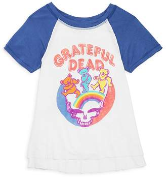 Junk Food Clothing Girls' Grateful Dead Tee - Big Kid