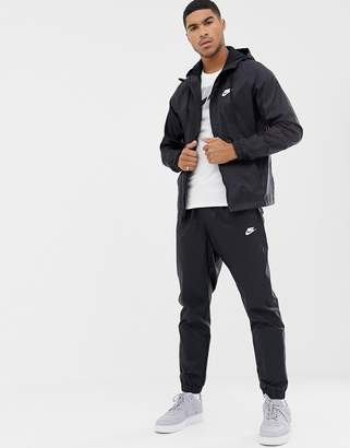 1368bff62ded Nike Woven Tracksuit Set In Black 928119-010