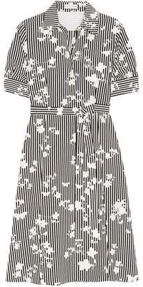 Altuzarra Kieran Printed Silk Crepe De Chine Shirt Dress