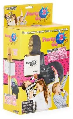 Party 2 Go Bluetooth Karaoke Microphone & Disco Ball
