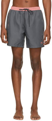 BOSS Grey Starfish Swim Shorts