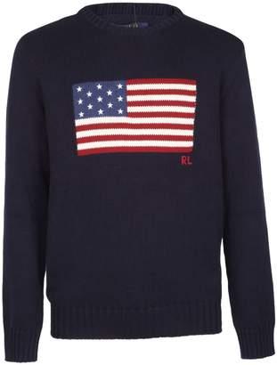 Ralph Lauren Flag Sweatshirt