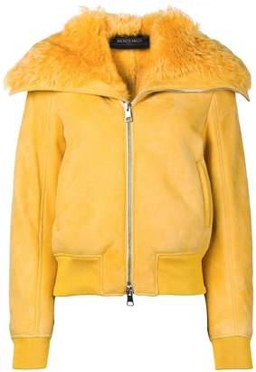 Simonetta Ravizza lambskin bomber jacket