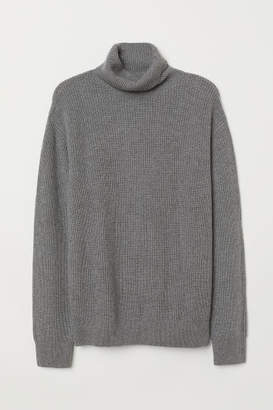 H&M Cashmere-blend Sweater - Gray