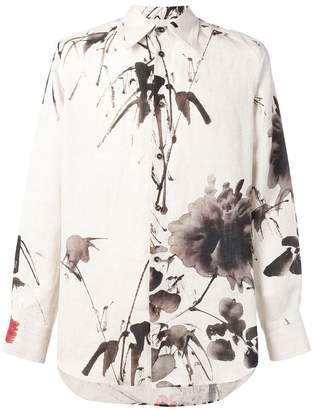 Vivienne Westwood watercolour print shirt