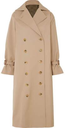 Pisa Oversized Cotton-blend Gabardine Trench Coat - Beige