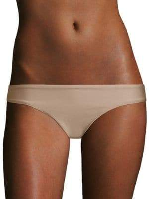 Pilyq Basic Ruched Full Bikini Bottom