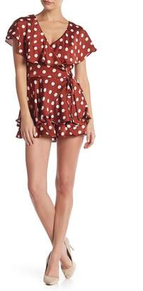 Do & Be Do + Be Polkadot Woven Romper