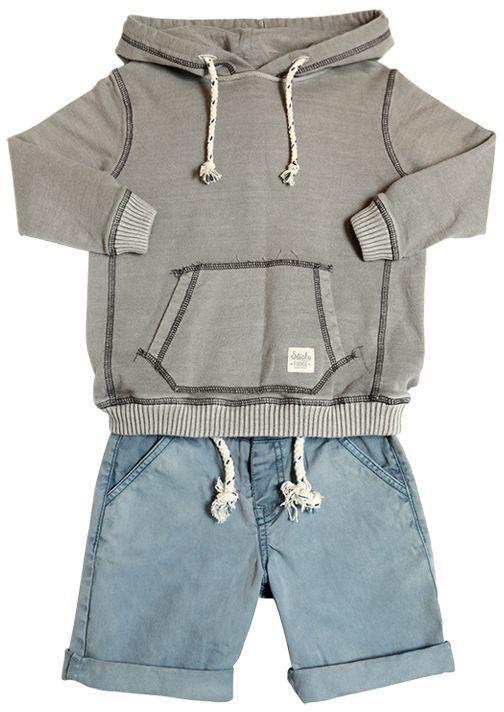 Organic Cotton Sweatshirt & Shorts