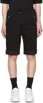 3.1 Phillip Lim Black Cotton Shorts $250 thestylecure.com