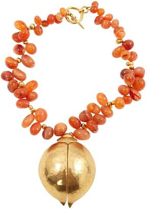 Herve Van Der Straeten Gold Metal Necklace